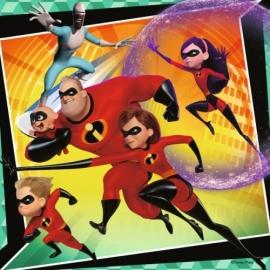 Ravensburger 080533 Puzzle: Disney Die Unglaublichen, 3x49 Teile