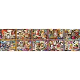 Ravensburger 178285 Puzzle: Mickey`s 90. Geburtstag 32000/40000 Teile