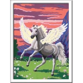 Ravensburger 277919 Malen nach Zahlen Serie Pferd Traumhafter Pegasus D