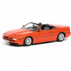 Schuco - BMW 850i Cabriolet, rot, 1:18