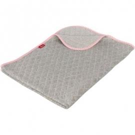 sigikid - Urban Baby Edition - Decke Hase rosa