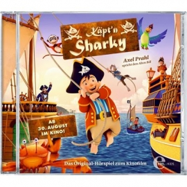Coppenrath - CD Käpt'n Sharky - Das Original-Hörspiel zum Kinofilm