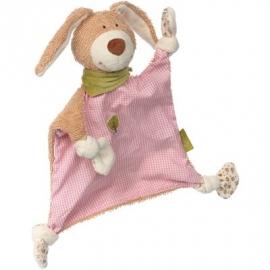 sigikid - Green - Schnuffeltuch Hase