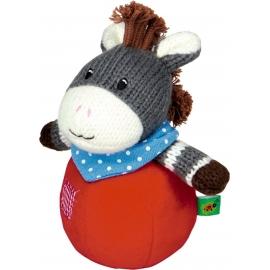 Die Spiegelburg - Baby Glück - Steh-auf-Esel mit Glockenspiel