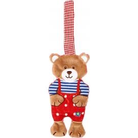 Die Spiegelburg - Baby Glück - Knistertuch Teddy