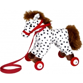 Die Spiegelburg - Mein kleiner Ponyhof - Pony Anton auf Holzrollen