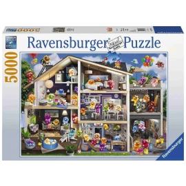 Ravensburger Spiel - Gelini Puppenhaus, 5000 Teile
