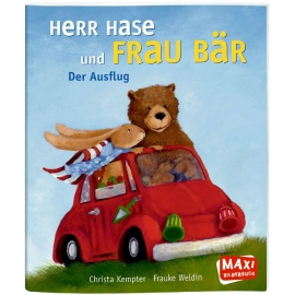 Oetinger - MAXI Herr Hase und Frau Bär Der große Ausflug