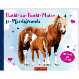 Coppenrath Verlag - Punkt-zu-Punkt-Malen für Pferdefreunde - Mit Zahlen von 1 bis 100