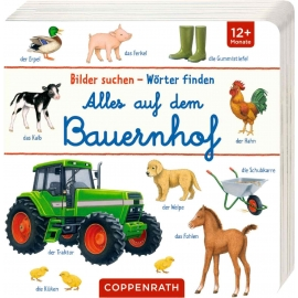 Coppenrath Verlag - Bilder suchen - Wörter finden - Alles auf dem Bauernhof