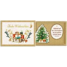 Coppenrath Verlag - Botschaften-Schachteln - Oh du schöne Weihnachtszeit, sort.