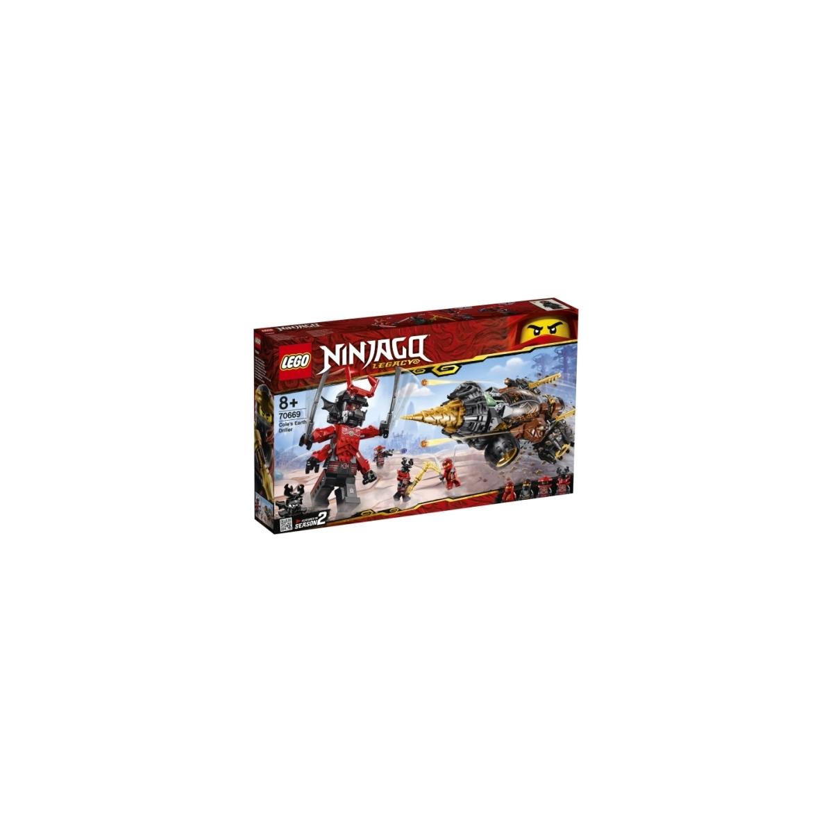 Mukk Spielwaren Münster Lego Ninjago 70669 Coles Powerbohrer