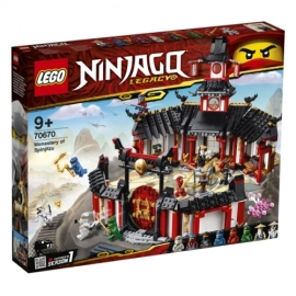 LEGO® Ninjago 70670 Kloster des Spinjitzu