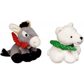 Die Spiegelburg - Fröhliche Weihnachten - Eisbär & Esel mit Sound, sort.