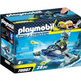 PLAYMOBIL 70007 - Top Agents - Team S.H.A.R.K. Rocket Rafter