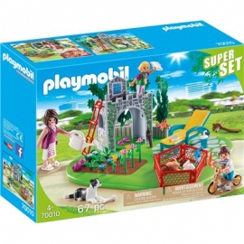 PLAYMOBIL 70010 - SuperSet - SuperSet Familiengarten