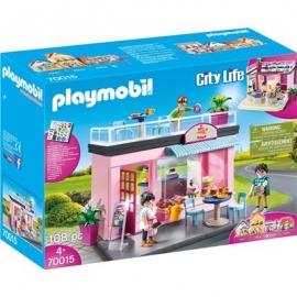 PLAYMOBIL 70015 - City Life - Mein Lieblingscafé