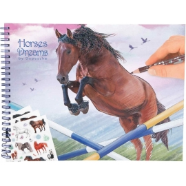 Depesche - Horses Dreams - Malbuch