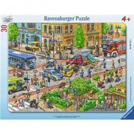 Ravensburger Puzzle - Unterwegs in der Stadt, 30 Teile