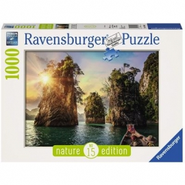 Ravensburger Puzzle - Three rocks in Cheow, Thailand, 1000 Teile
