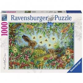 Ravensburger Puzzle - Nächtlicher Zauberwald, 1000 Teile