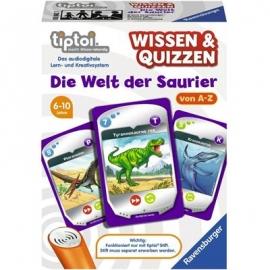 Ravensburger Spiel - tiptoi - Wissen und Quizzen - Die Welt der Saurier