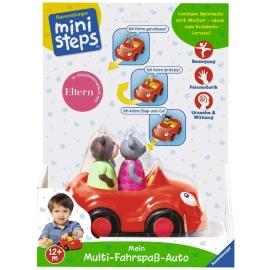 Ravensburger Spiel - ministeps - Mein Multi-Fahrspaß-Auto
