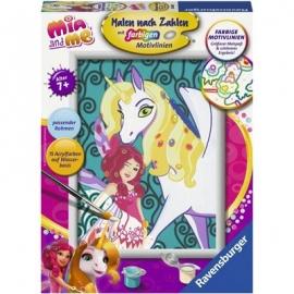 Ravensburger Spiel - Malen nach Zahlen - Mia and me - Mia und Onchao