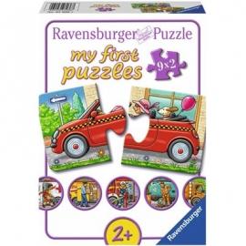 Ravensburger Puzzle - my First Puzzle - Allerlei Fahrzeuge, 2 Teile