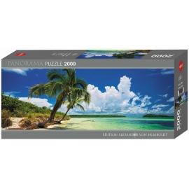 Heye - Panoramapuzzle - Paradise Palms Panorama 2000 Teile