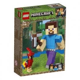 LEGO® Minecraft 21148 BigFig Steve mit Papagei