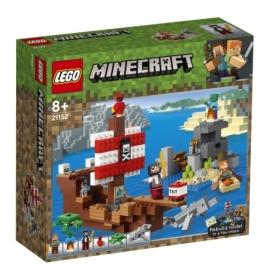LEGO® Minecraft 21152 Das Piratenschiff-Abenteuer
