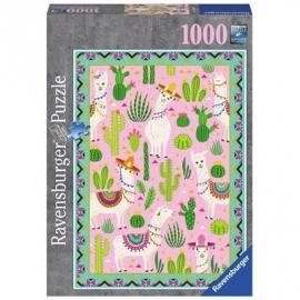 Ravensburger Puzzle - Süße Alpakas, 1000 Teile
