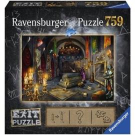 Ravensburger Puzzle - EXIT Im Vampirschloss, 759 Teile