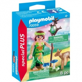 PLAYMOBIL 70059 - Special Plus - Elfe mit Reh