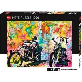 Heye - Standardpuzzles - Easy Rider Standard, 1000 Teile