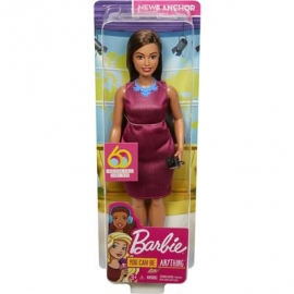 Mattel - Barbie 60th Anniversary Journalistin Puppe