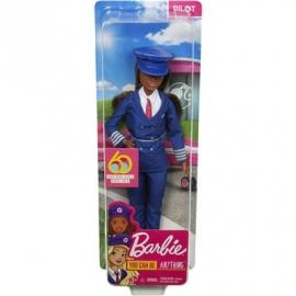 Mattel - Barbie 60th Anniversary Pilotin Puppe