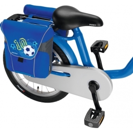 Puky 9785 Doppeltasche DT 3 blau Fußball