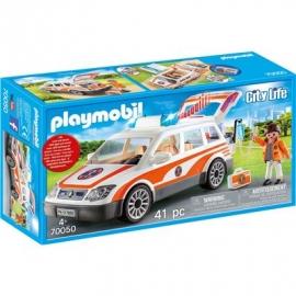 PLAYMOBIL 70050 - City Life - Notarzt-PKW mit Licht und Sound