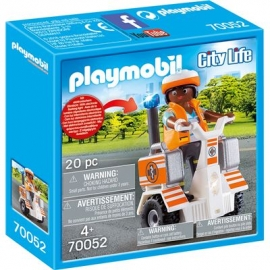 PLAYMOBIL 70052 - City Life - Rettungs-Balance-Roller
