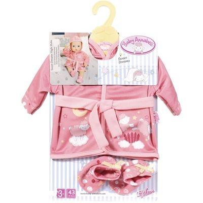 Zapf Baby Annabell® Sweet Dreams Bademantel Puppen & Zubehör Babypuppen & Zubehör