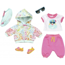 Zapf Creation - Baby born Play und Fun Deluxe Fahrrad Outfit