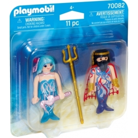 Playmobil 70082 DuoPack Meereskönig und Nixe