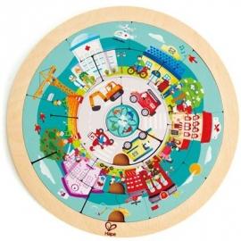 Hape - Puzzle Berufe-Karussell