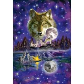 Schmidt Spiele - Wolf im Mondlicht, 1000 Teile