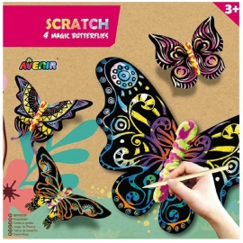 Avenir - Scratch Magic Butterflies
