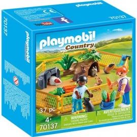 PLAYMOBIL 70137 - Country - Kleintiere im Freigehege
