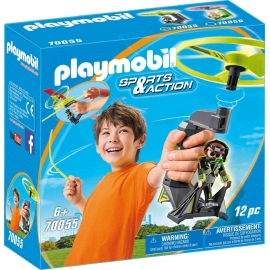 PLAYMOBIL 70055 - Sports & Action - Top Agents Pull String Flyer