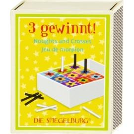 Spiel & Spaß in der Schachtel - 3 gewinnt! Bunte Geschenke
